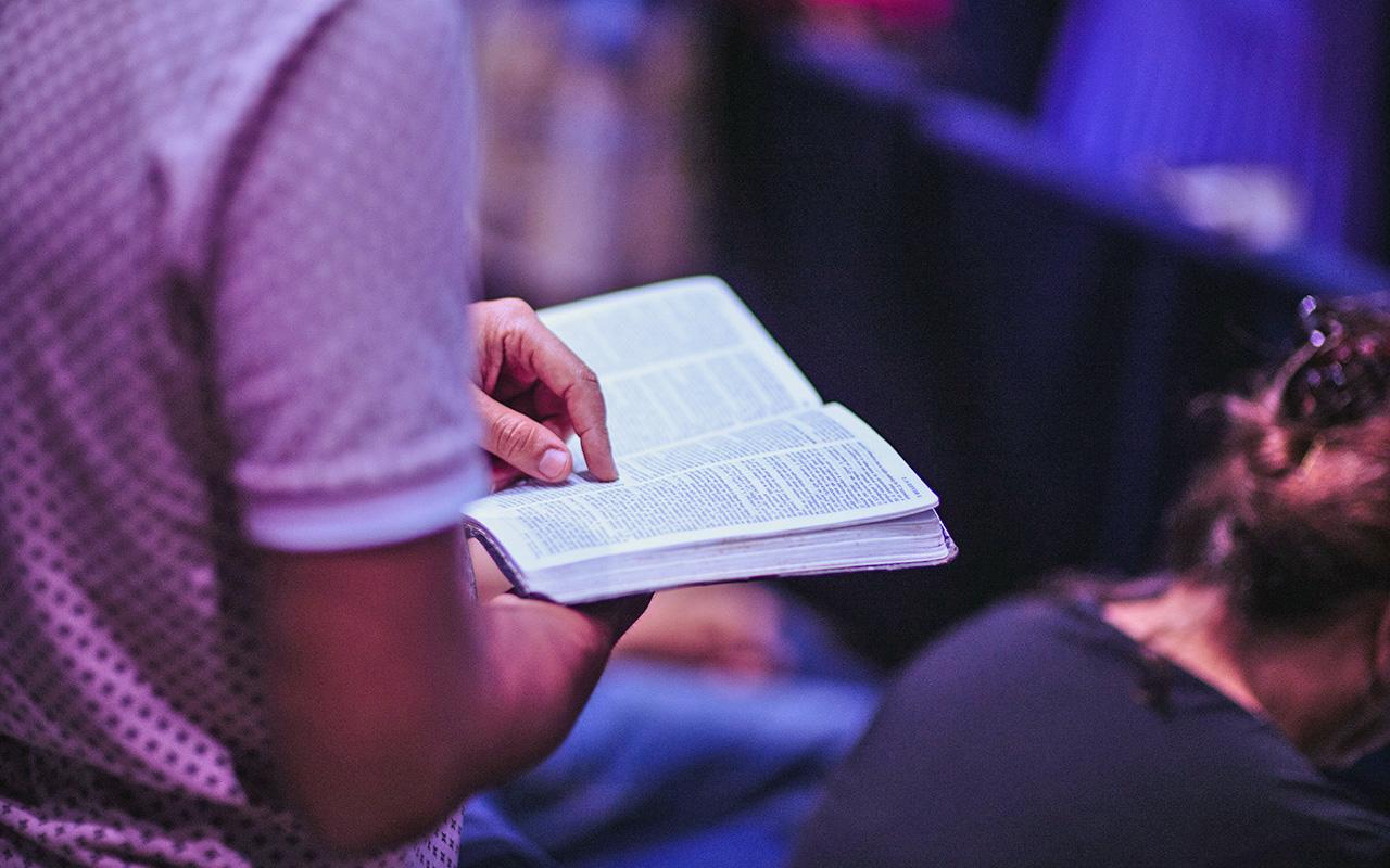 jezus geeft rust zondagsdienst